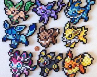 Pokemon Perler Primal Groudon Kyogre Raquaza Bead by Toriroz