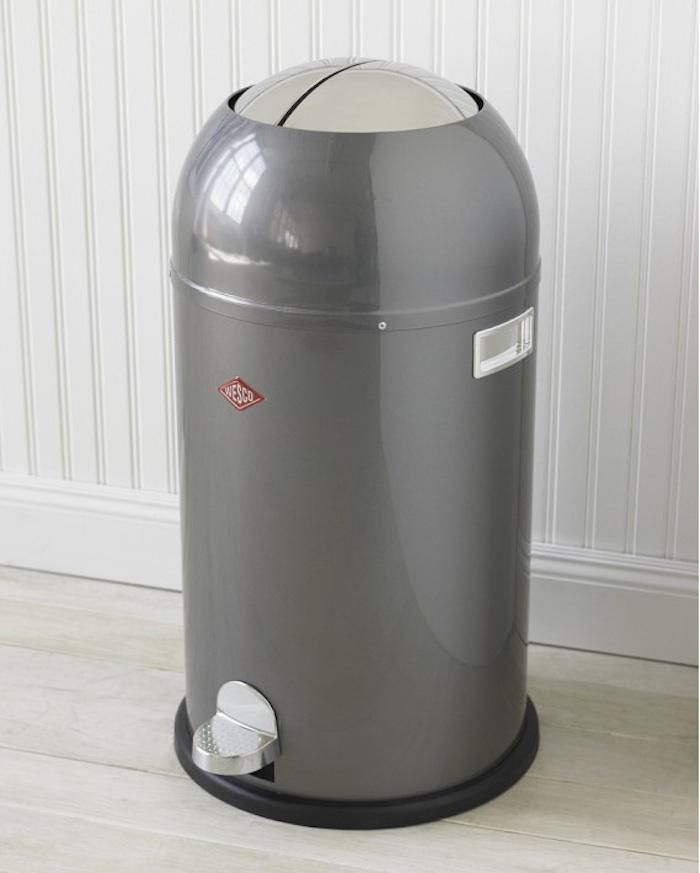 The Mercedes Of Trash Bins Yes It S Expensive But Will Be Last Bin You Ever Made From Powder Coated Sheet Steel Wesco Brings