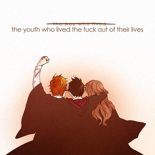 hpfanart:    Harry Potter: We Threeby *Anarahk