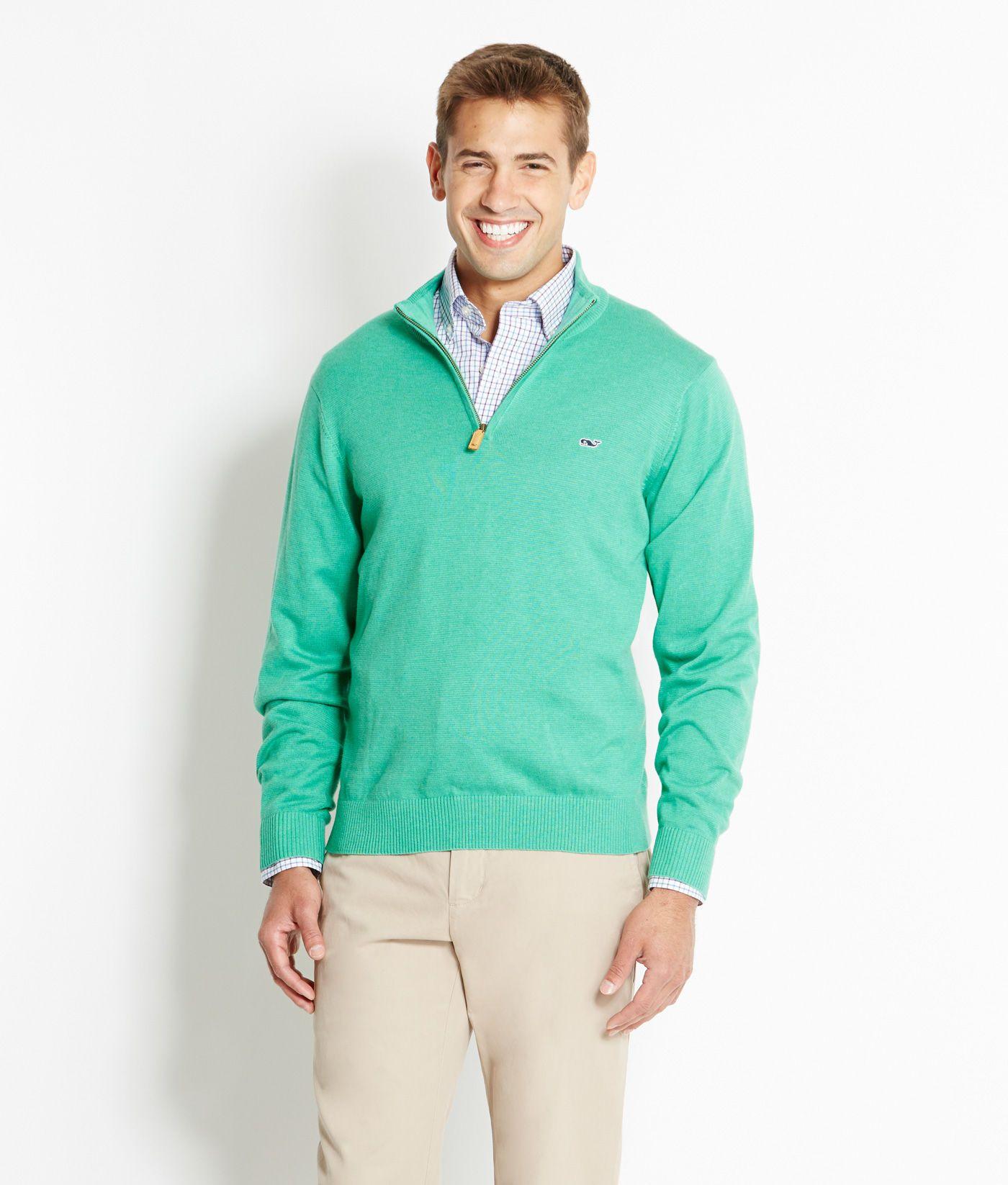 Shop pullovers ridgefield zip for men vineyard vines wish