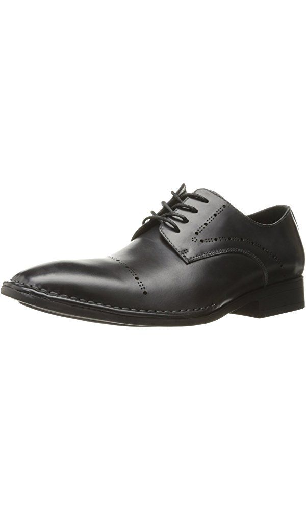 Kenneth Cole New York Men's Split Second Oxford, Dark Grey, 9.5 M US Best