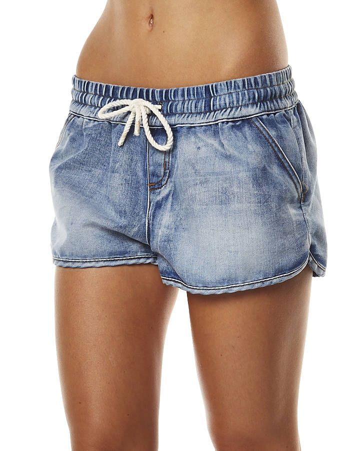 ALL ABOUT EVE DENIM LOUNGE SHORT - DENIM | Denim | Pinterest ...