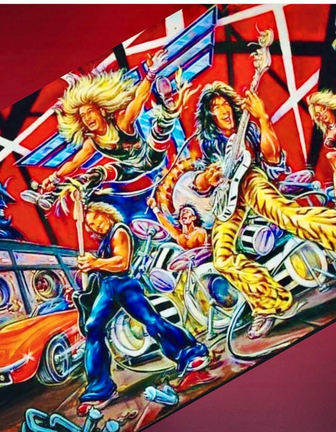 Van Halen Van Halen Eddie Van Halen Album Cover Art