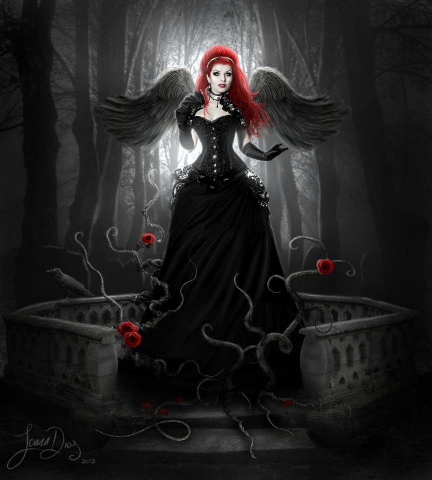 Gothic Art Angel Dark Fantasy