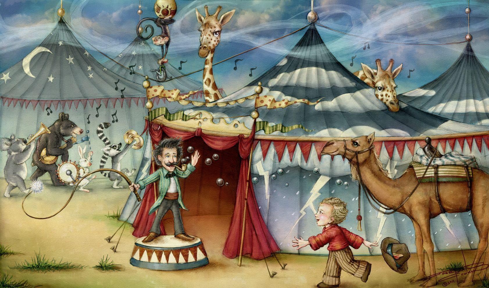 Сюжетные картинки цирк