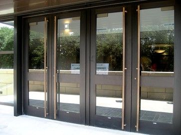 Commercial storefront doors contemporary exterior under for Commercial exterior doors