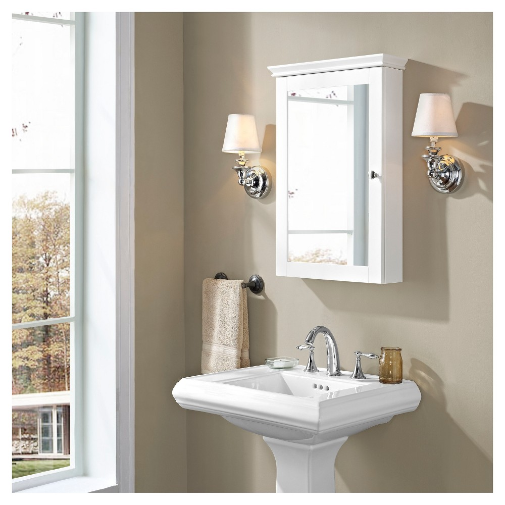 Lydia Mirrored Wall Cabinet In White In 2020 Bathroom Furniture Storage Cabinets Large Storage Cabinets