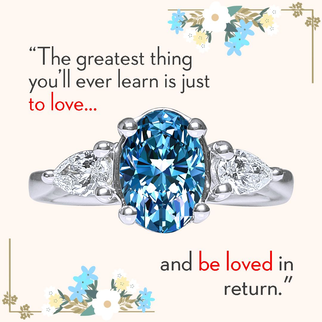 Discover our Bridal collection, featuring center white and center blue diamond rings! #MadeintheUSA #FamilyBusiness #Bridal #JewelryDesign #UniqueRings #FineJewelry #CustomMadeJewellery