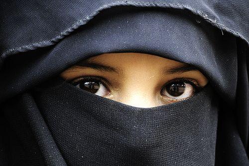 Niqab   Girl Eyes Drawing, Niqab, Veil-7258
