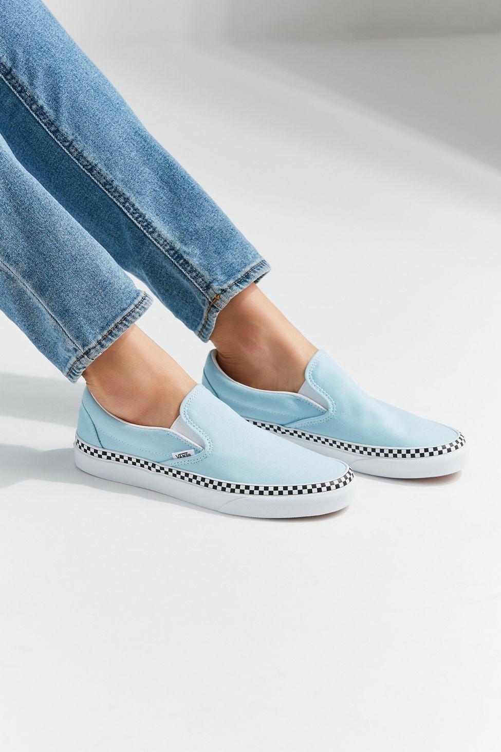 273e7dd0abd Vans Checkerboard Sidewall Slip-On Sneaker in 2019