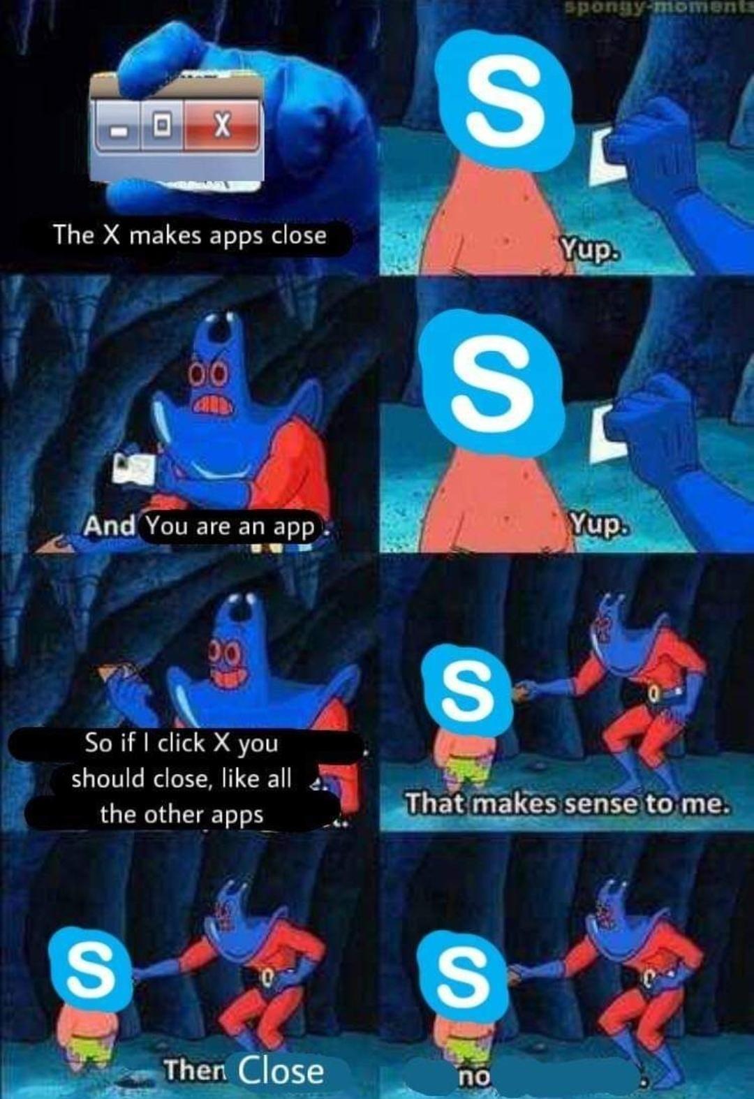 Skype memes are still trendy right