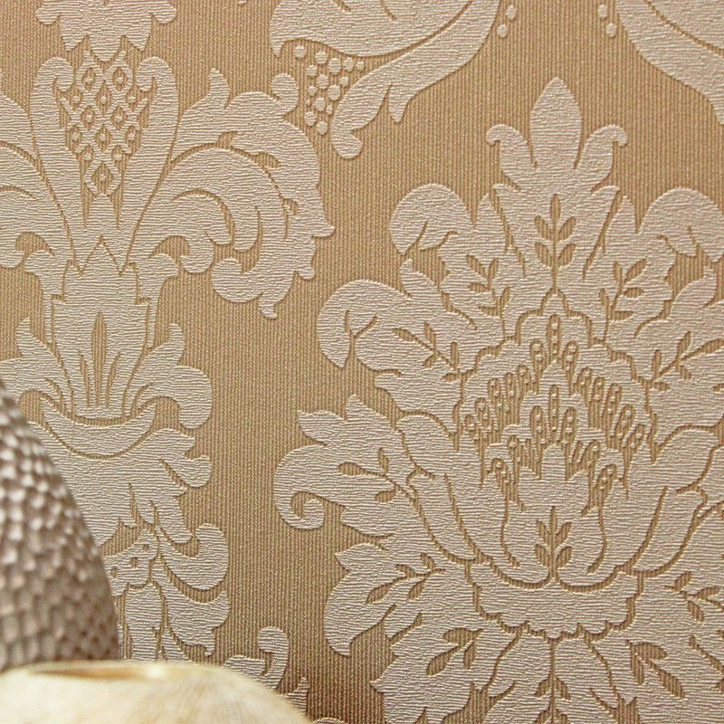 Arthouse Messina Damask Wallpaper In Gold Italian Vinyl Featuring A Timeless Damask Pattern In Cream And Metallic Gold For That Added Luxury