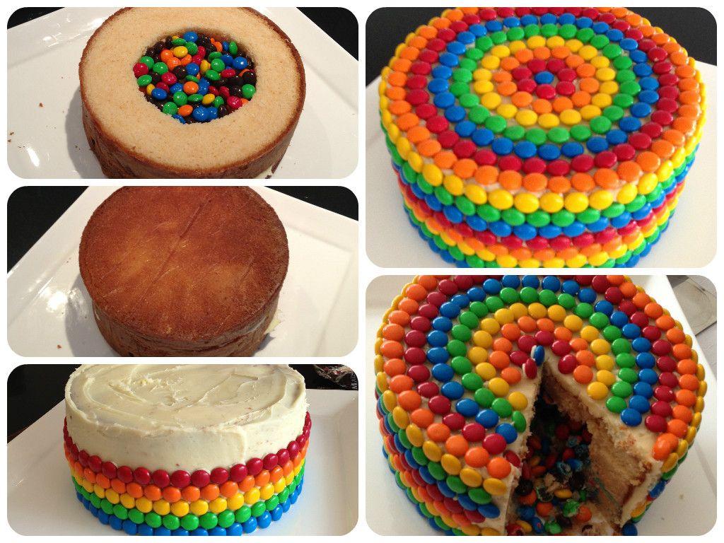 Fantastic Pinata Birthday Cake How To With Images Kids Cake Birthday Funny Birthday Cards Online Benoljebrpdamsfinfo