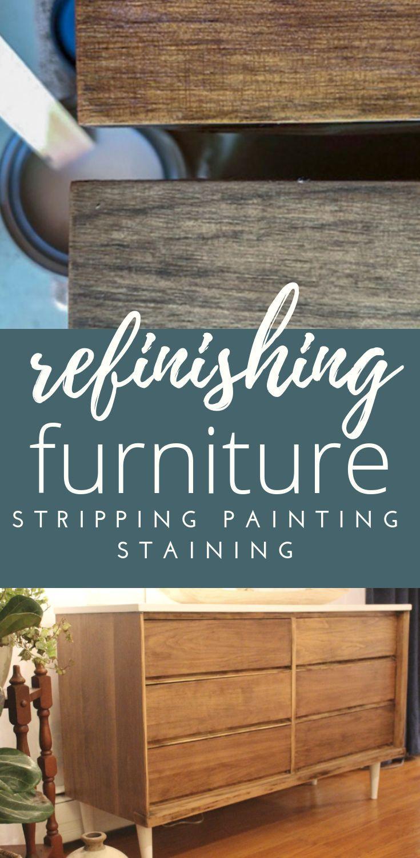 DIY Furniture Refinishing | Diy furniture, Stripping ...