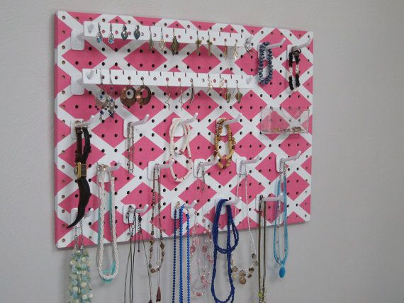 WallHanging Jewelry Organizer Necklace Hanger Earring Holder