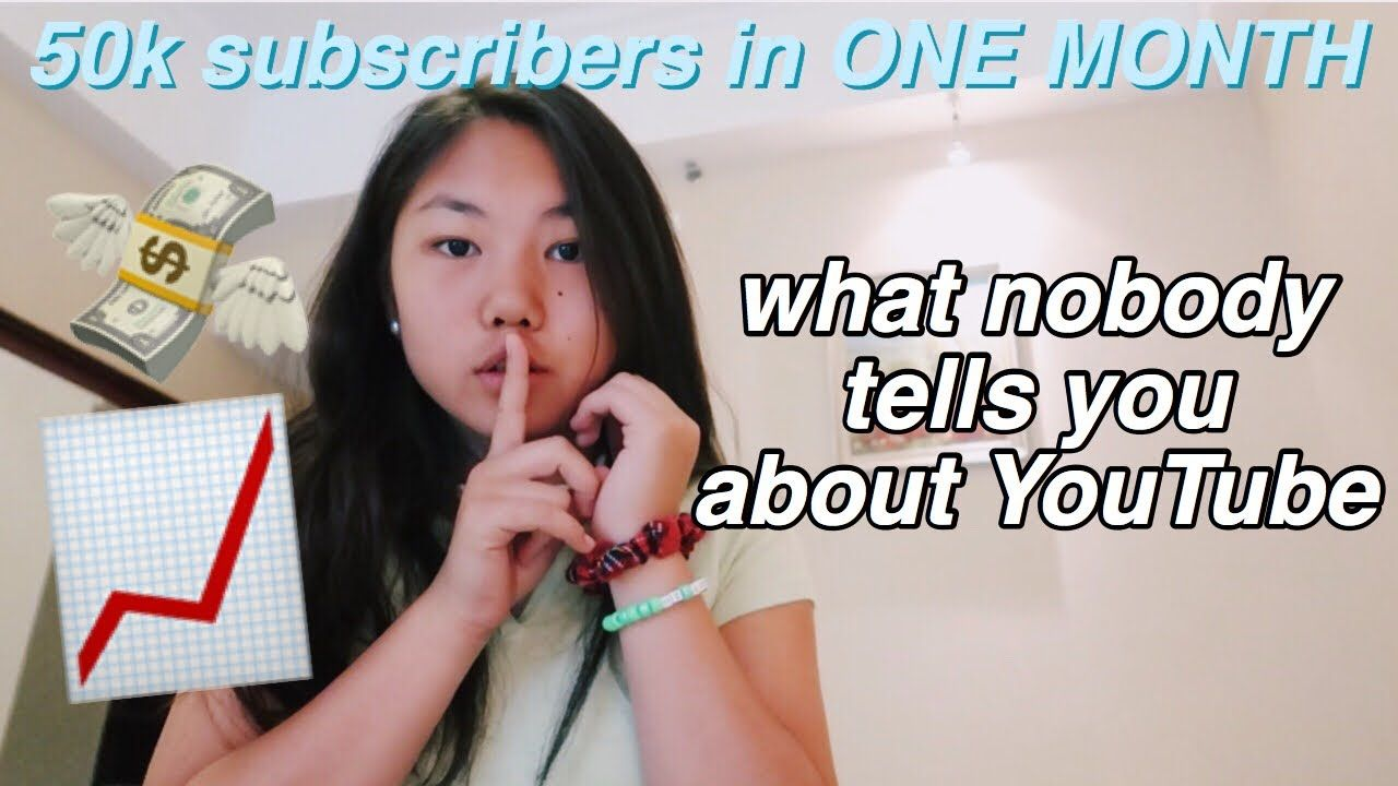 How i got 50000 subscribers in one month told you so