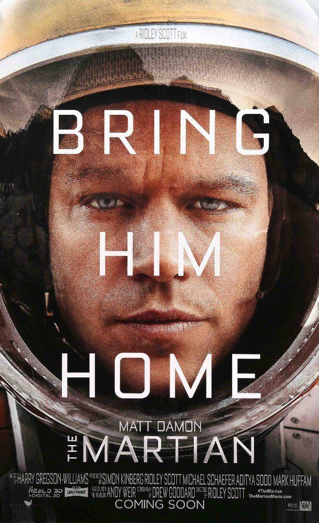 Martian 2015 The Martian Film Matt Damon The Martian