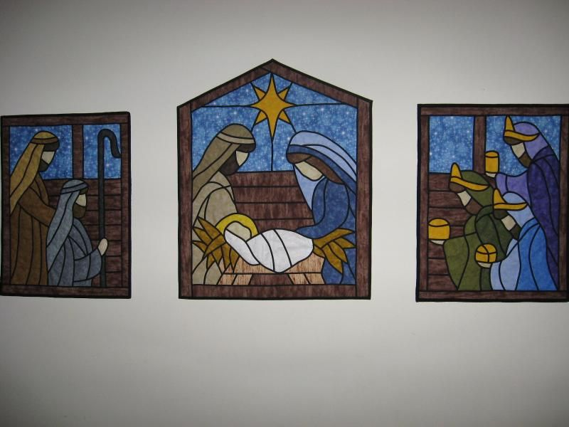 Actuall Pattern for this Nativity Quilt   Nativity   Pinterest ... : nativity quilt pattern - Adamdwight.com