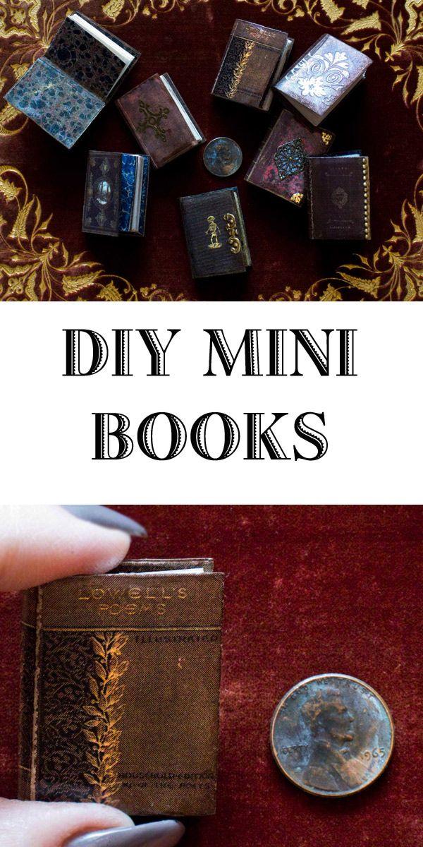 Miniature Books - A Love Affair | Techniques & Tutorials
