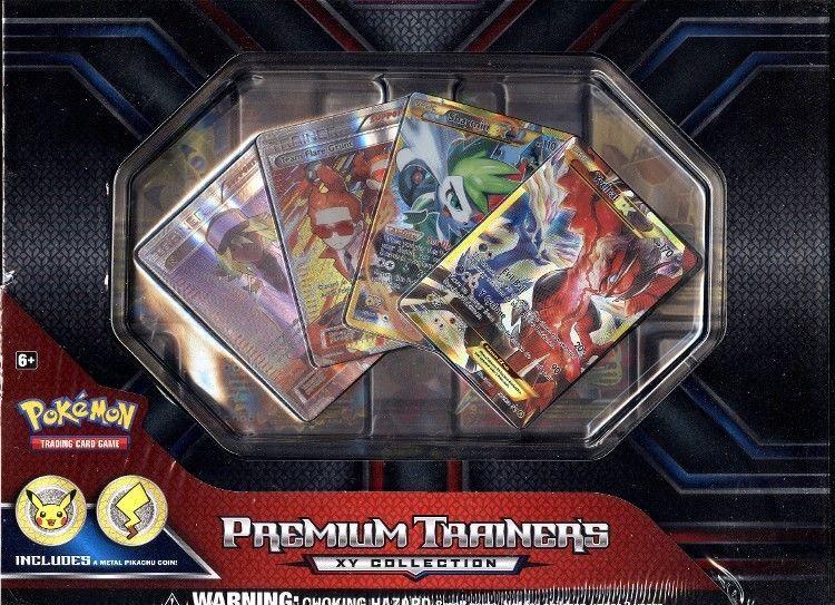 Verzegelde boosters POKEMON MEGA MAWILE EX PREMIUM COLLECTION BOX BLOWOUT CARDS kaartspellen