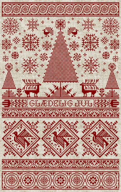 It S A Pattern For A Sampler Maybe I Need To Hand This Over To Mom For Her To Make Christmas Cross Stitch Cross Stitch Samplers Cross Stitch Patterns