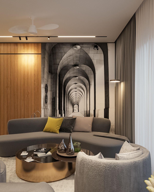 Ultra Modern Livingroom On Behance Living Room Modern Living Room Design Modern Living Room Designs Ultra modern living room