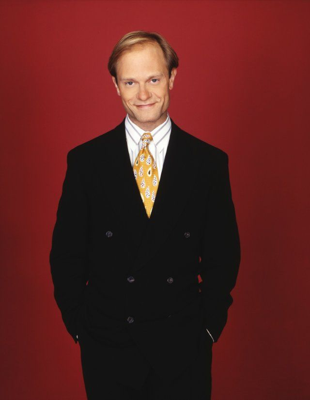 7ec43c32 David Hyde Pierce as Niles Crane - often I think the real star. Perfectly  complementlys Kelsey Grammar as neurotic brothers