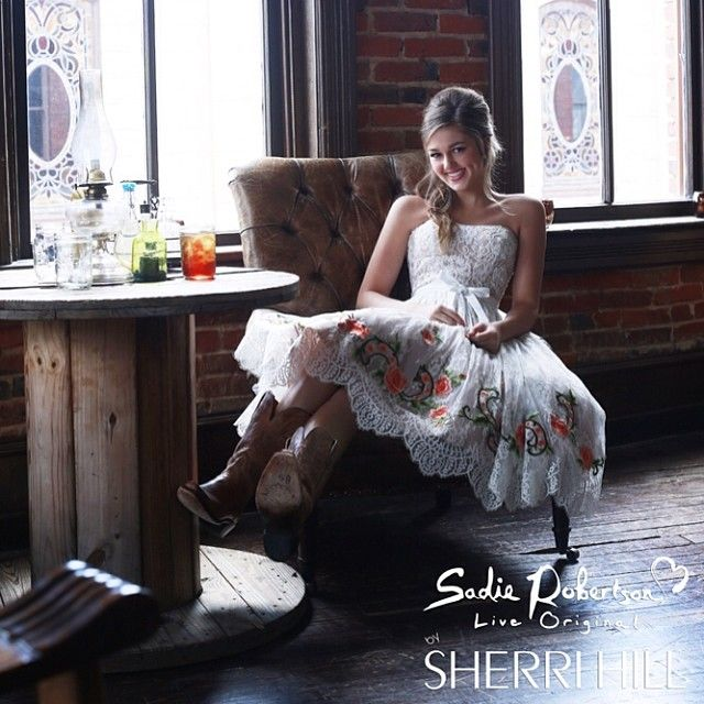 Sherri Hill - Dresses - Sadie Robertson Live Original Collection ...