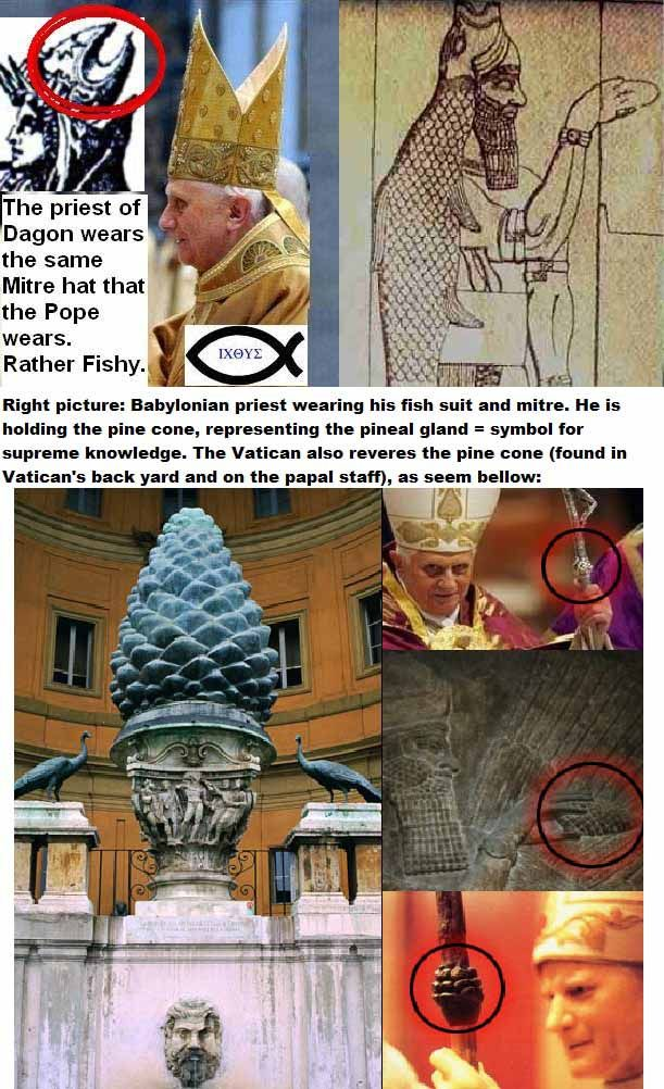 Satanic Symbols Revealed Catholicism Corruption And Dirty