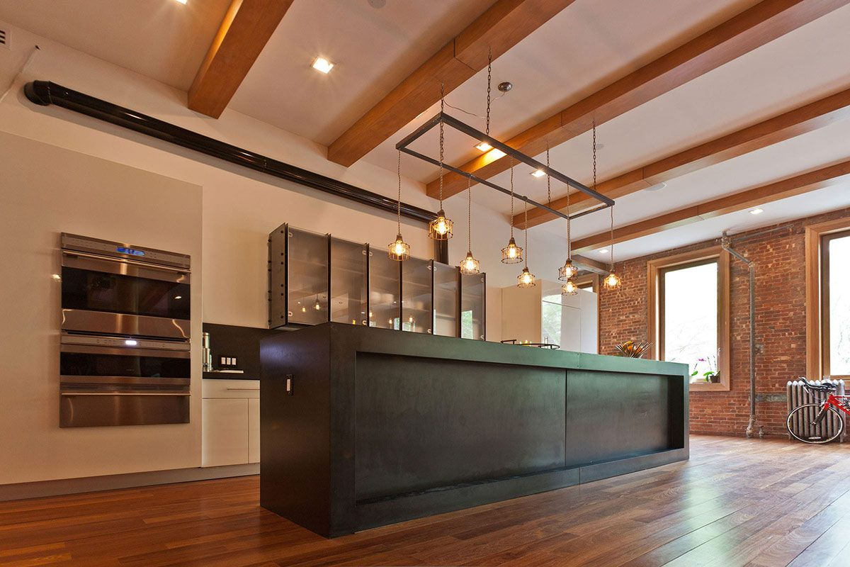 Wooden Floor Kitchen Nyc Lofts 800 Px Wood Flooring Kitchen Loft In Noho