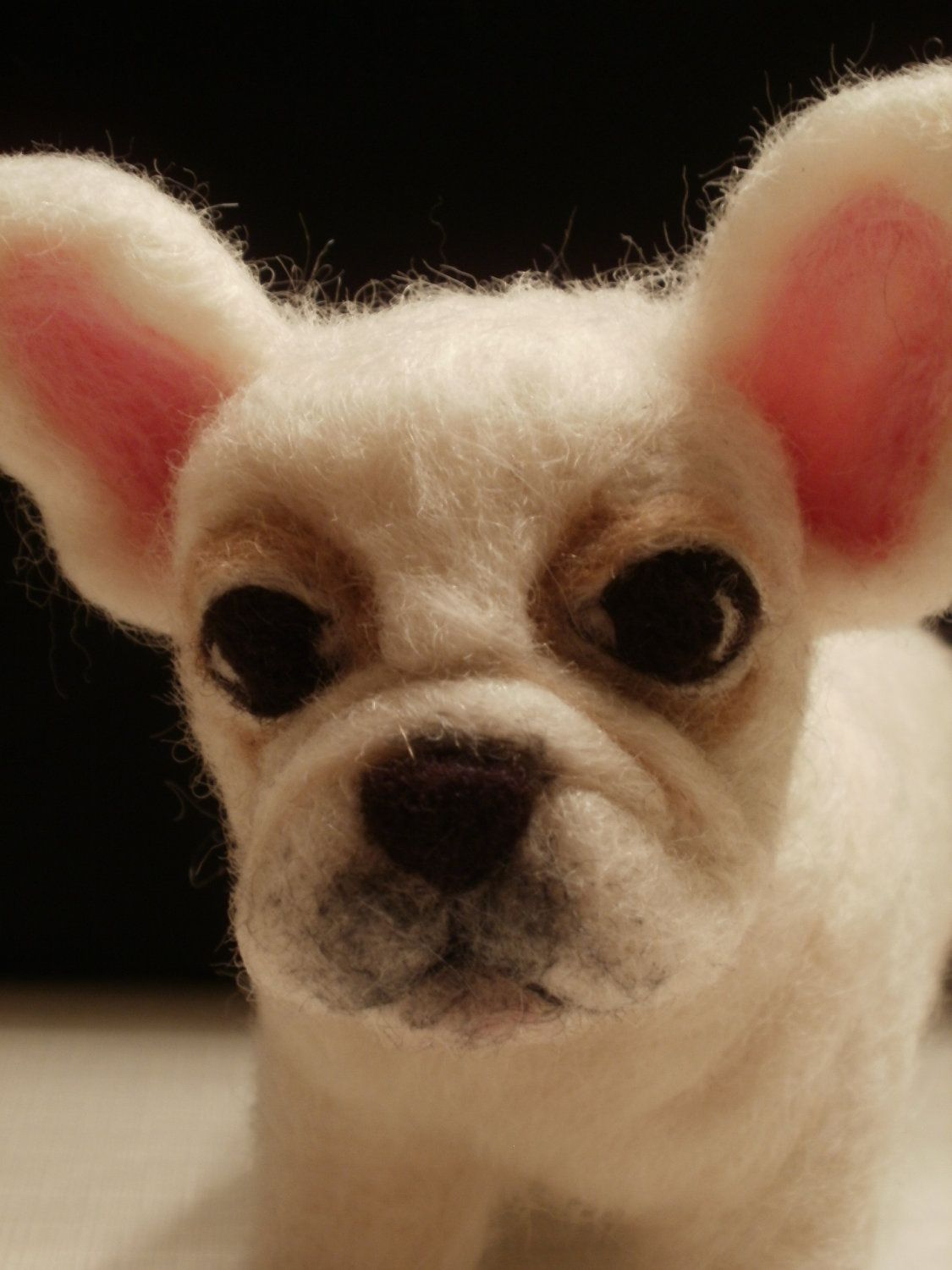 French Bulldog Puppy Artist Needle Felted - OOaK - Tina. $95.00, via ...