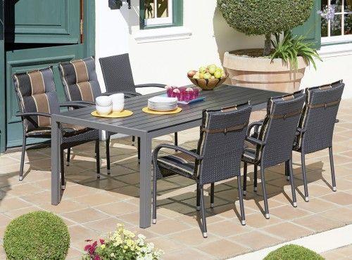 Livorno Las Vegas Table 6 Palermo Chairs Patio Dining Set Patio Chairs Patio Dining Set Outdoor Furniture Sets