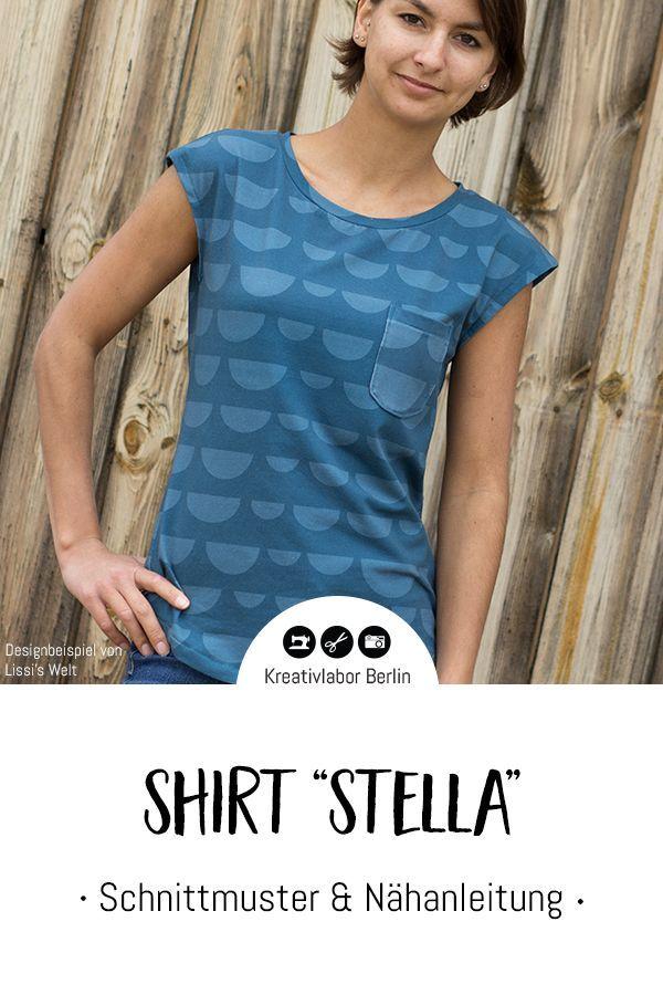 Neues Schnittmuster: Shirt Stella - Kreativlabor Berlin