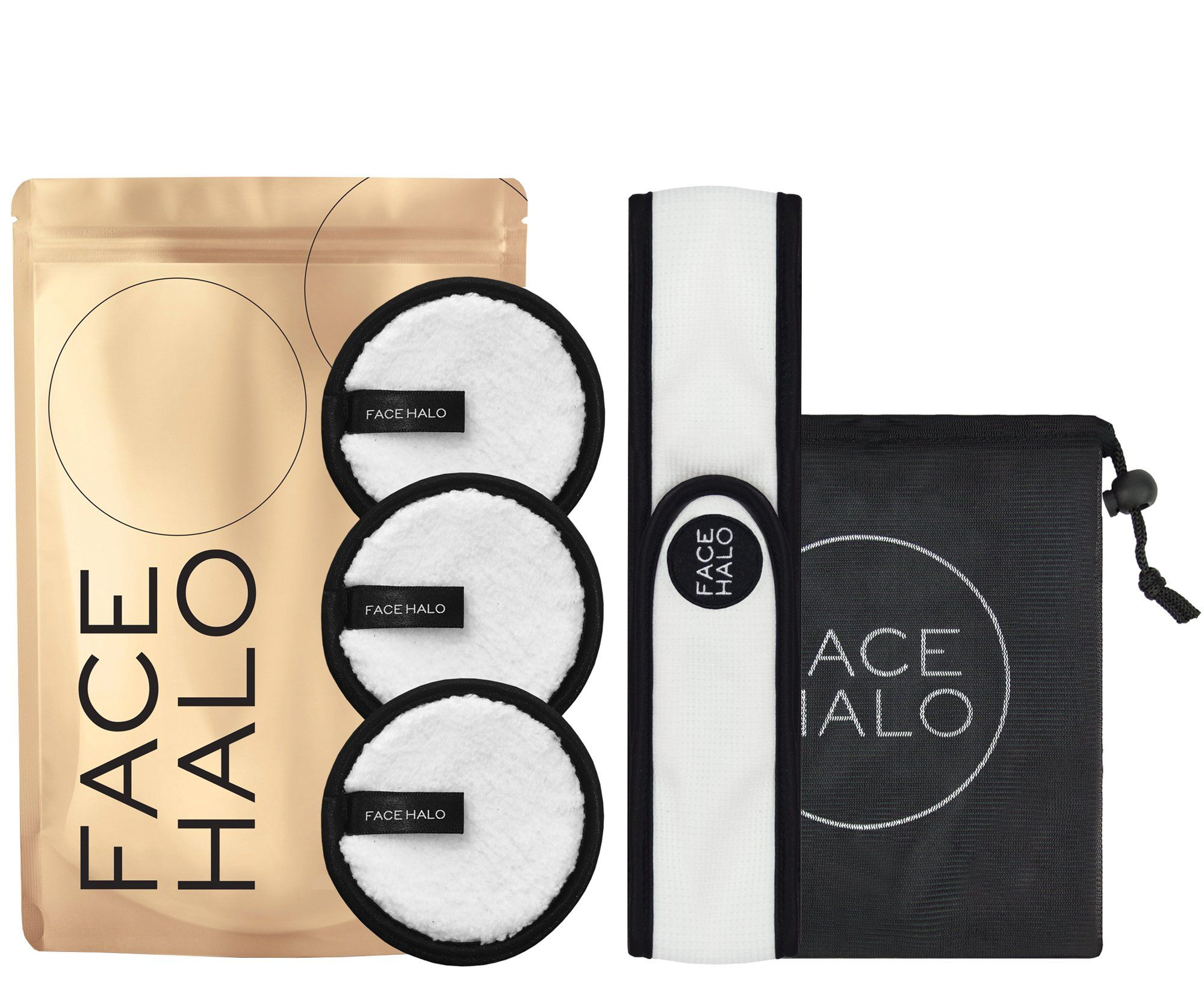 FACE HALO HOLIDAY PACK Holiday packing, Makeup remover, Halo