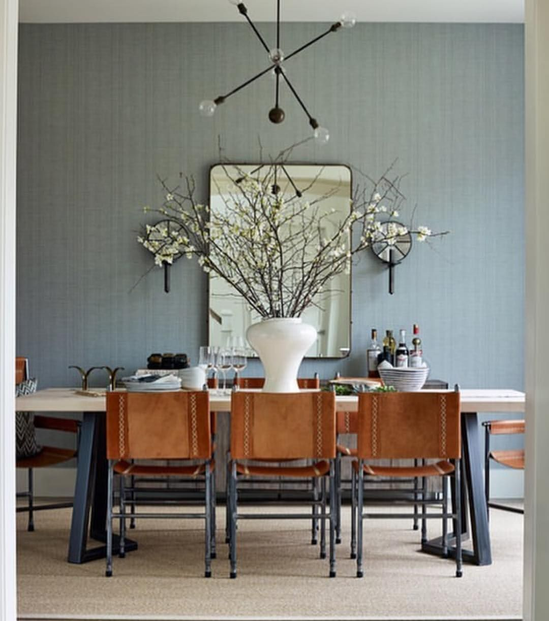 Beautiful Casual Dining Room: Beautiful Dining Room By @jennywolfinteriors Featured In