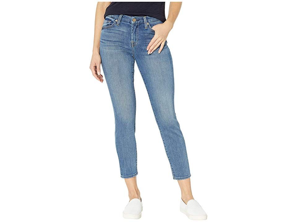 7 For All Mankind Kimmie Crop In Primm Valley Women S Jeans Primm