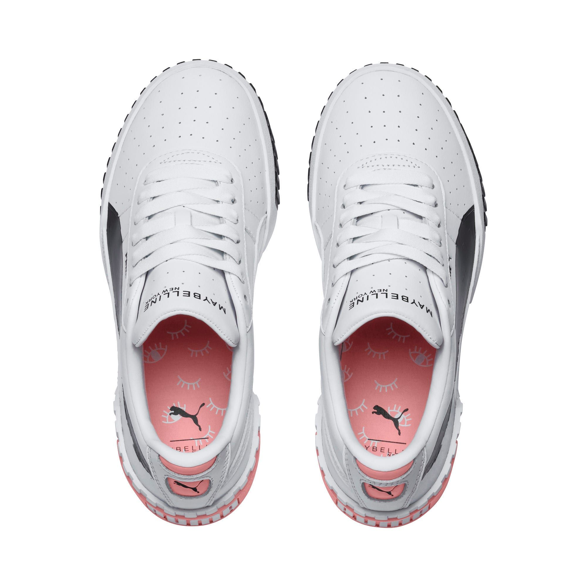PUMA x Maybelline Cali Women's Trainers in WhiteBlack size