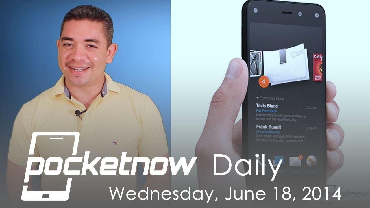 "iPhone 6 5.5"" prototype leaked, Amazon Fire Phone, Google Nexus 6 claims & more - Pocketnow Daily"