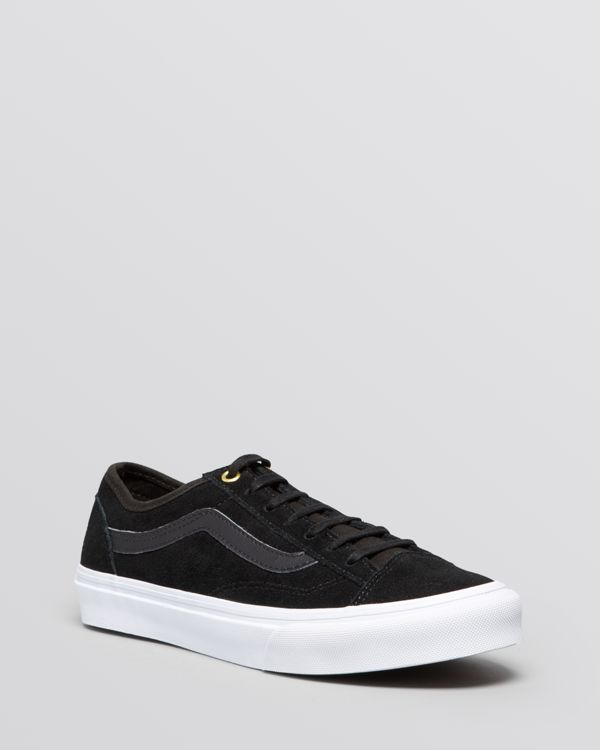 262e39e92556 Vans Flat Lace Up Sneakers - Style 36 Slim