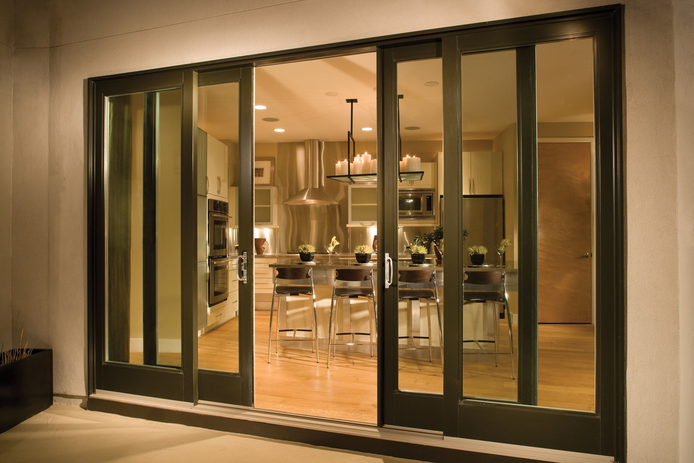 Andersen 4 Panel Sliding Patio Door   Occasionally You Donu0027t Desire A  Conventional Door. You Donu0027t Have Room To Swing Out. Y