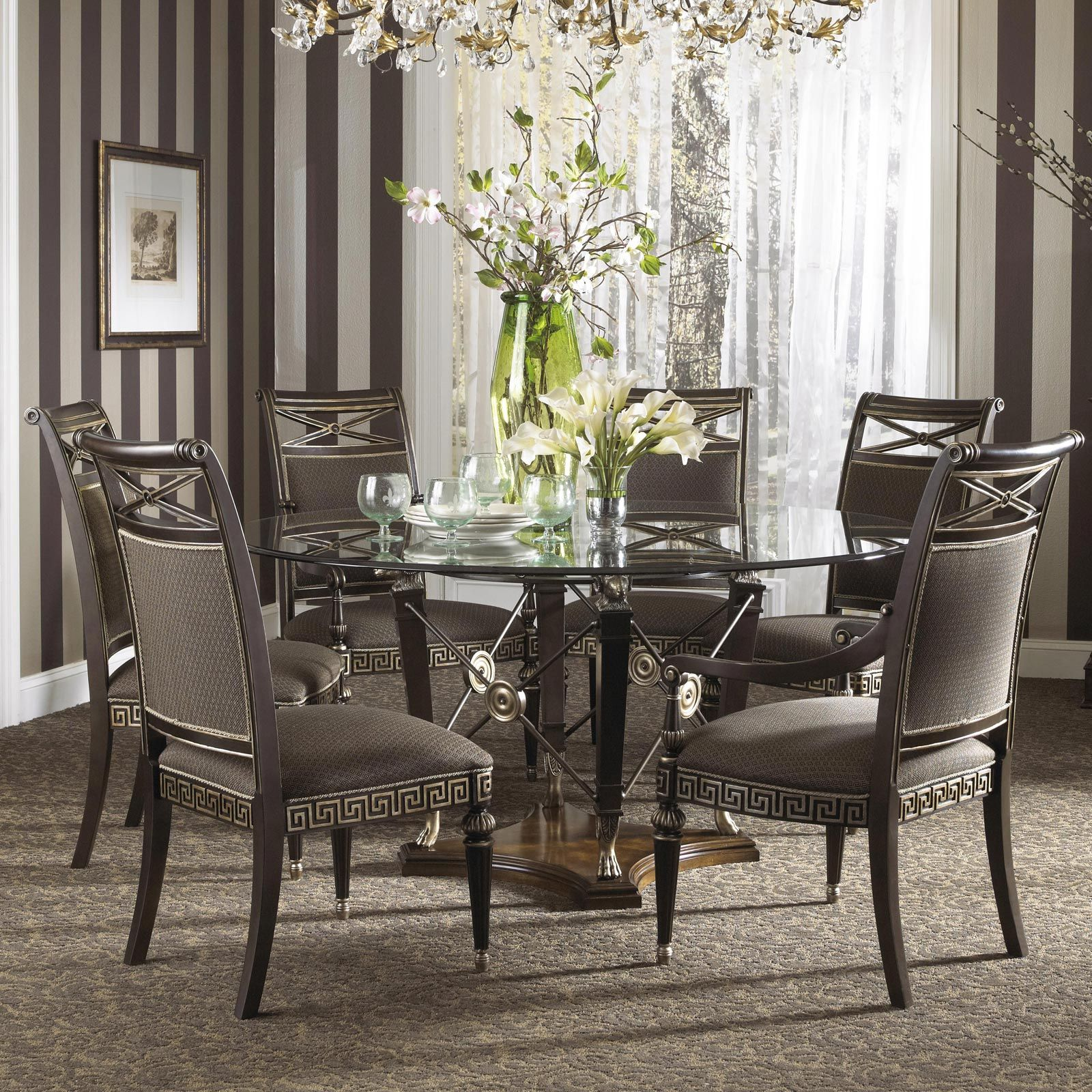 Formal Dining Table: Formal Dining Room Chairs - Dining Room Furniture