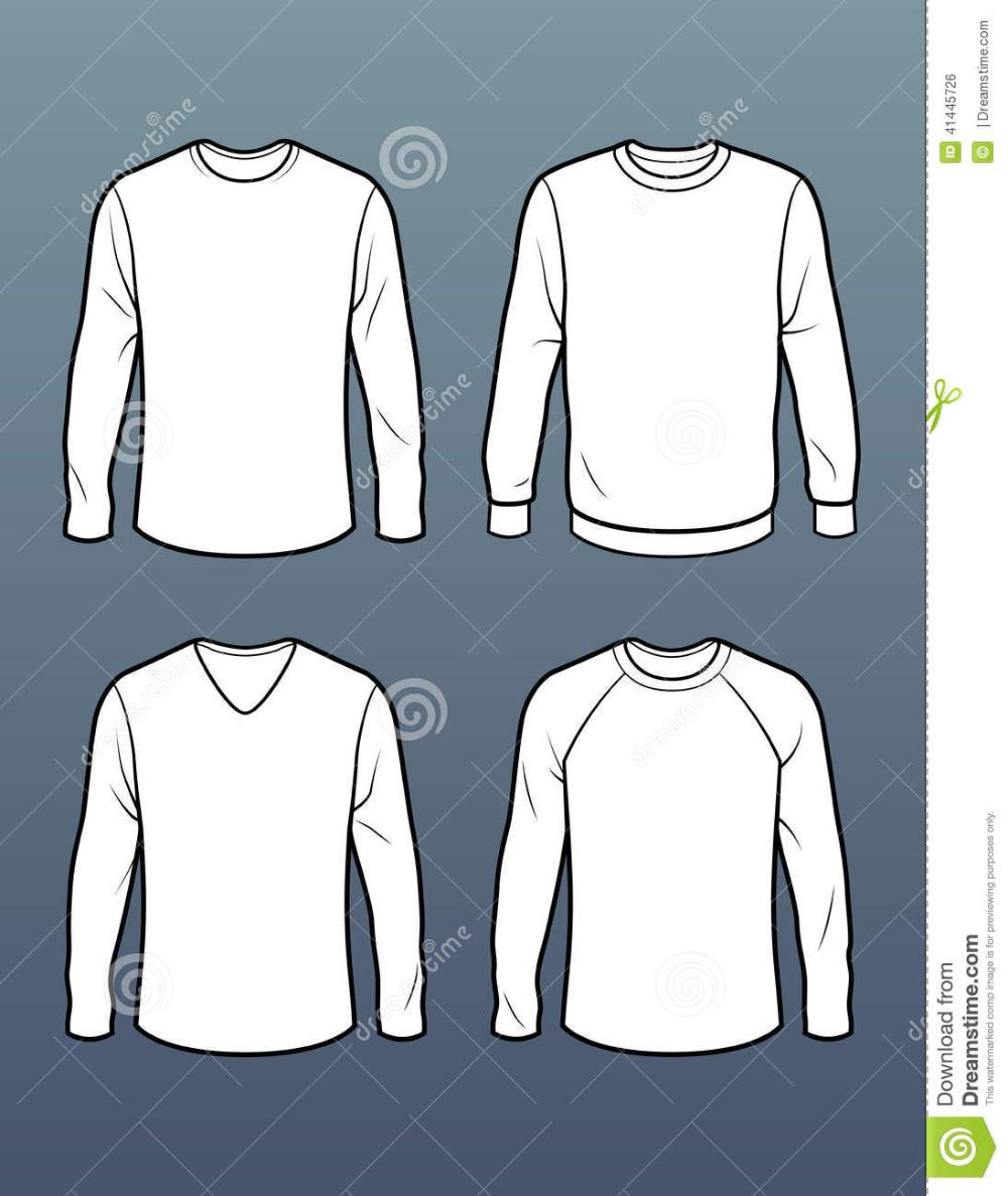 Download Men Fitted V Neck Full Sleeve T Shirt Vector Google Search Disenos De Unas Vector