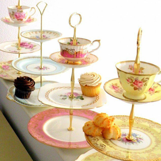 40 Ideas Of How To Reuse Tea Cup Artistically High Tea Tea Cup Cake Teacup Crafts