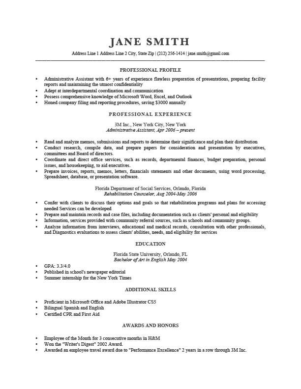 Resume Template Trump Gray resumes Pinterest - how to start a resume