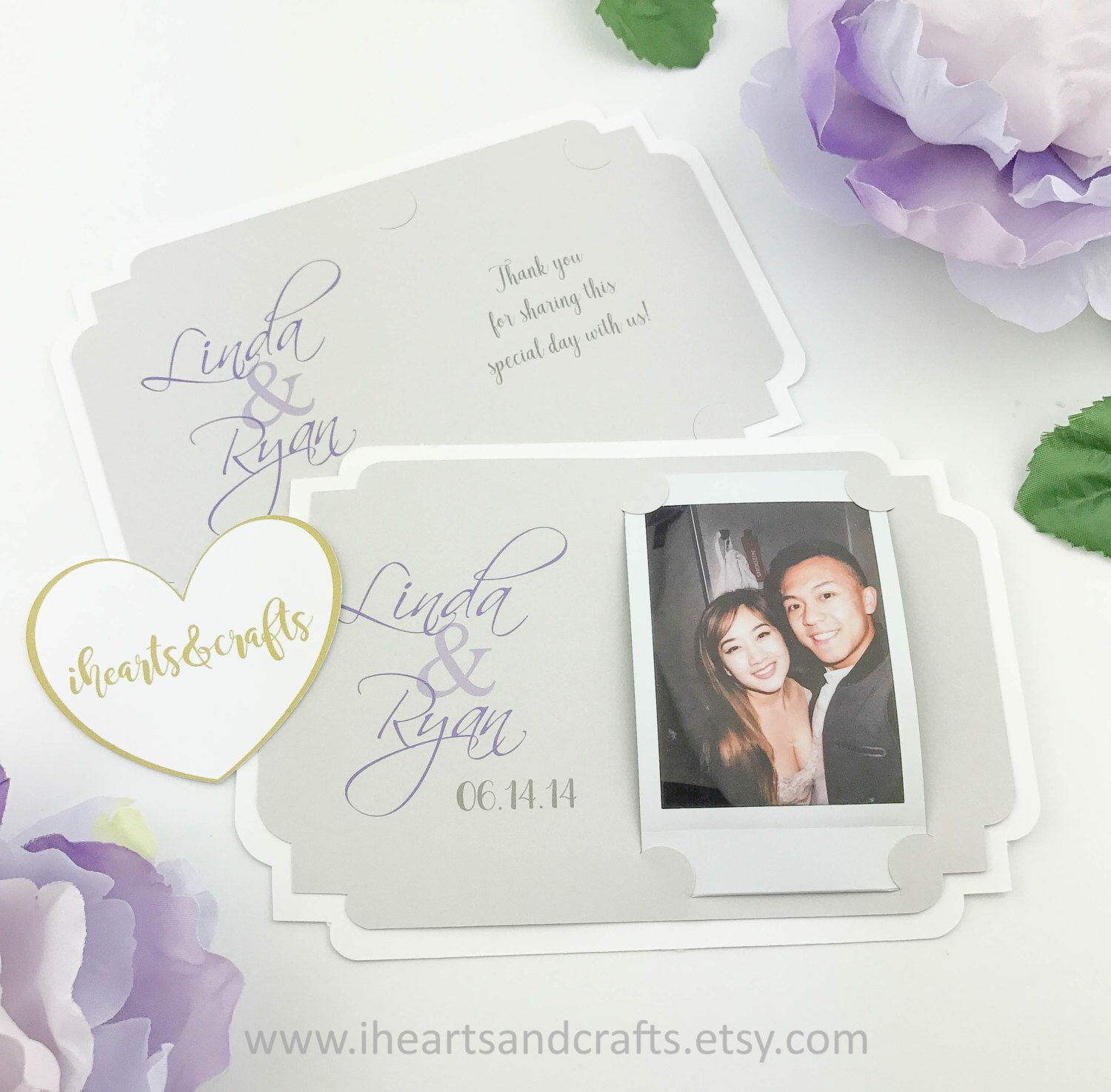 Picture frame holder for FUJI instax photo | Party Favors | WEDDING ...