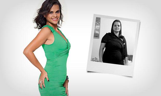 Uma grande transformação que aconteceu com a dona de casa Lorena Yamada, de 26 anos, que reside em São Paulo. Chegou a pesar cerca de 103kg e já se via toma ...