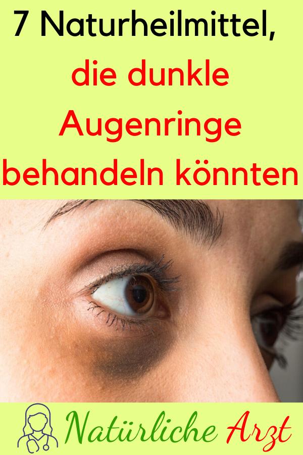 7 Naturheilmittel Die Dunkle Augenringe Behandeln Konnten Heilmittel Dunkleaugenringe Naturheilmittel Hausmittel Hautpflege Fitness Workout