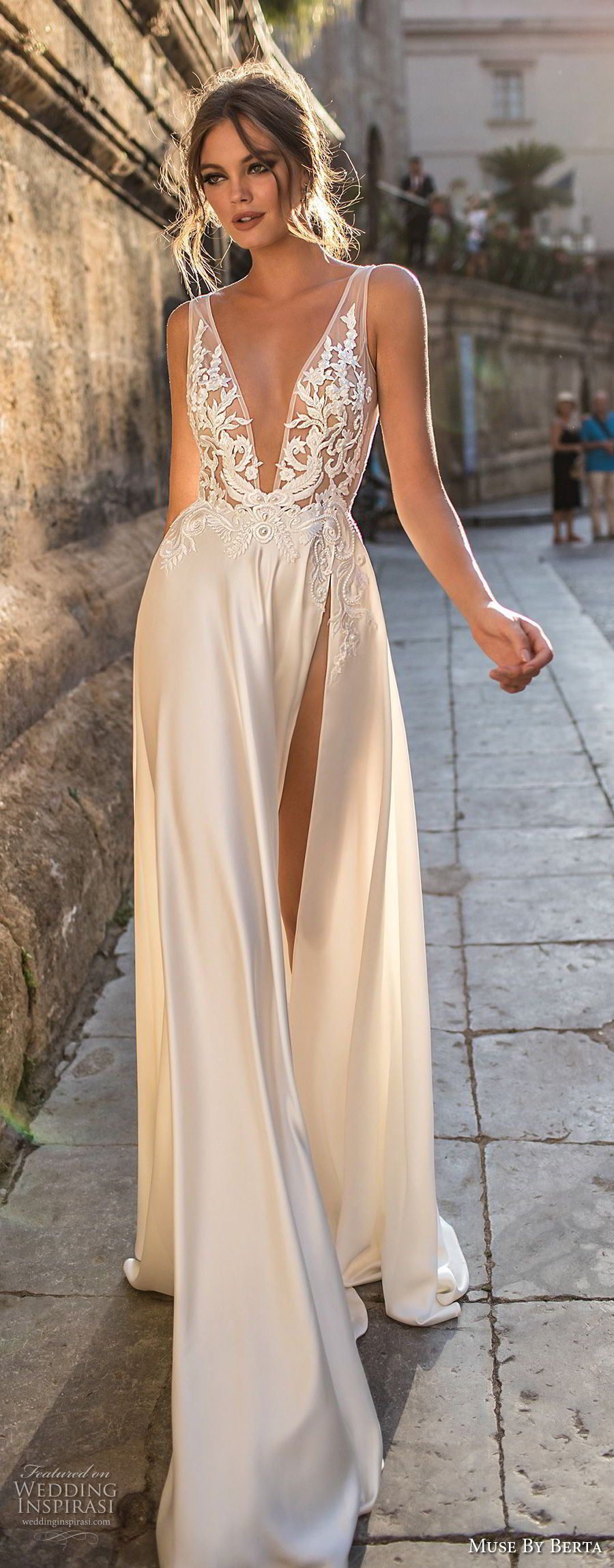Muse by berta wedding dresses u sicily bridal campaign bridal