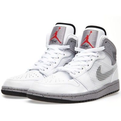 sneakers for cheap 7d96c 391a1 Nike Air Jordan 1 Retro  89  White Cement  (White, Black   Cement Grey)