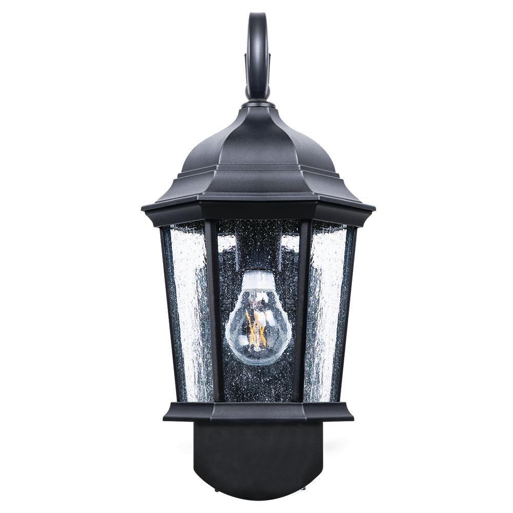 Maximus Coach Smart Security Companion Textured Black Outdoor Wall Mount Lantern Spl1107a1n4bkt Led Outdoor Wall Lights Security Lights Outdoor Wall Lantern